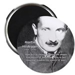 "Man / Language: Heidegger 2.25"" Magnet (10 pack)"