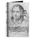 History Lessons Georg Hegel Journal