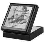 History Lessons Georg Hegel Keepsake Box