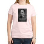 Peace and Justice Eisenhower Women's Pink T-Shirt