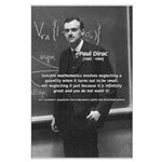 Paul Dirac Quantum Theory Large Poster