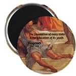 """Cynic Philosophy Diogenes 2.25"""" Magnet (100 pack)"""