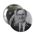 Politics George W. Bush Snr Button