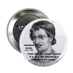 "Freedom of Thought Bruno 2.25"" Button (10 pack)"