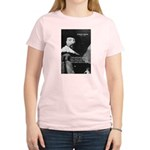Philosopher Francis Bacon Women's Pink T-Shirt