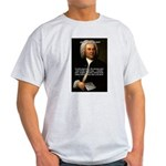 Composer J.S. Bach Ash Grey T-Shirt
