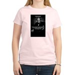 Sir Winston Churchill Women's Pink T-Shirt