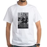 Marie Curie Physics Liberty White T-Shirt