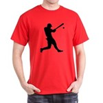 Baseball Player Dark T-Shirt
