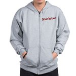 Obama ScamWow! Zip Hoodie