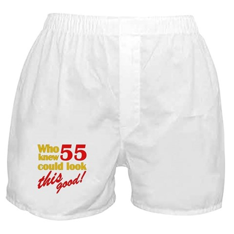 funny gag gifts. Funny 55th Birthday Gag Gifts Boxer Shorts