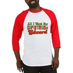 Christmas Edward Baseball Jersey