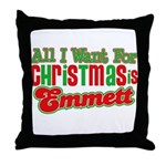 Christmas Emmett Throw Pillow