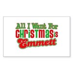 Christmas Emmett Rectangle Sticker 10 pk)