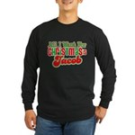 Christmas Jacob Long Sleeve Dark T-Shirt