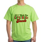 Christmas Jacob Green T-Shirt