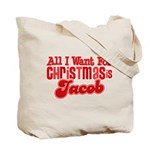 Christmas Jacob Tote Bag