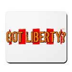 Got Liberty Distressed Stripe Mousepad