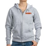 Got Liberty Distressed Stripe Women's Zip Hoodie