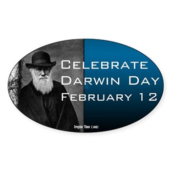 Darwin Day Bumper Sticker