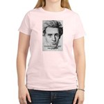 Irony Freedom of Speech Women's Pink T-Shirt