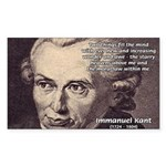 Kant Moral Law: Rectangle Sticker