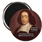 "Spinoza Ethics Philosophy 2.25"" Magnet (10 pack)"