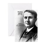 Thomas Edison Inspiration Greeting Cards (Package