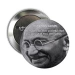 "Power of Truth Gandhi 2.25"" Button (100 pack)"