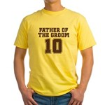 Uniform Groom Father 10 Yellow T-Shirt