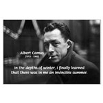 Albert Camus Motivational Large Poster