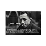 Albert Camus Motivational Rectangle Magnet (100 pa
