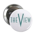 The View Teal Logo 2.25inch Button