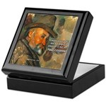 Cezanne Emotion Artistic Quote Keepsake Box
