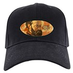 Cezanne Famous Paris Quote Black Cap