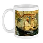 French Painter Manet Quote Mug