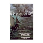 Manet Painting Color Quote Mini Poster Print