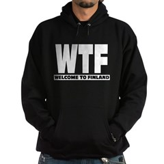 Zip Hoodie WTF - Welcome To Finland from the Metal From Finland Shop