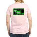 WomenHunters Women's Pink T-Shirt