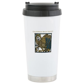 Image of the 40th Anniversary travel mug