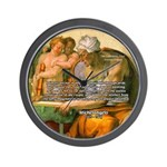 Michelangelo Art Philosophy Wall Clock