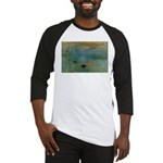 Claude Monet Torture Art Baseball Jersey