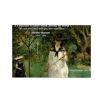 Berthe Morisot Art Quote Rectangle Magnet
