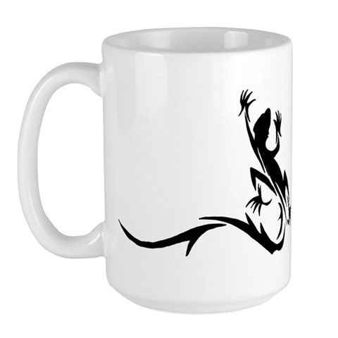 Tribal Lizard Tattoo Mug