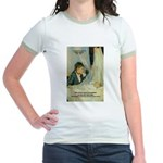 Female Artist Morisot Quote Jr. Ringer T-Shirt