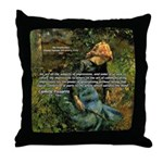 Pissarro Art of Impressions Throw Pillow