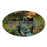 Pissarro Art of Impressions Oval Sticker