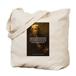 Renbrandt Self Portrait & Quote Tote Bag