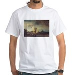 Rembrandt: on God & Painting White T-Shirt