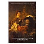 Art & Atmosphere Rembrandt Large Poster